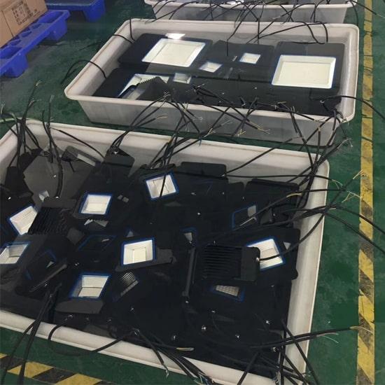 Led Flood Lights Waterproof Test