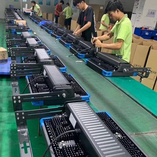 LED Flood Lights Production