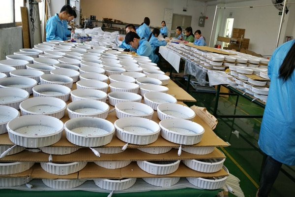 Production of downlights