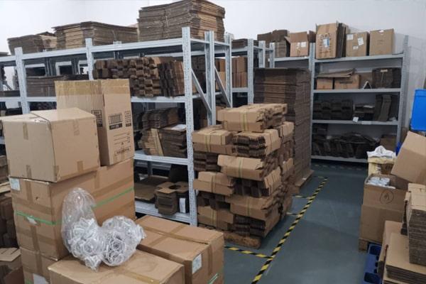 Warehouse of raw materials